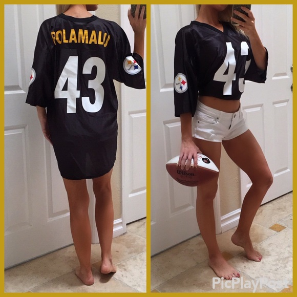 newest collection 04ace 0c9f0 Troy Polamalu Pittsburgh Steelers Jersey XL